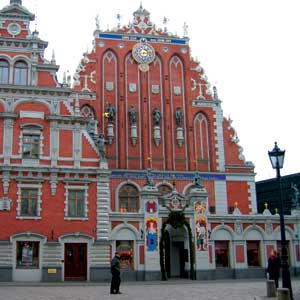 The House of Blackheads in Riga